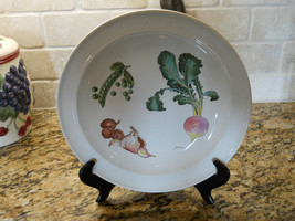 "Wedgwood China Gourmet 10 3/4"" Dinner Plate Vegetables Croft Shape - $22.72"
