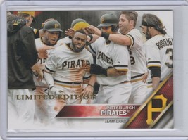 2016 Topps Limited Edition #65 Pirates Team Card - $1.00