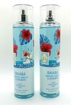 2 Bath & Body Works HAVANA Tropical Vanilla & Cherimoya Fine Fragrance M... - $28.41