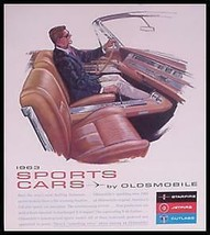 1963 Oldsmobile Sports Brochure- Starfire Jetstar 442 - $7.36