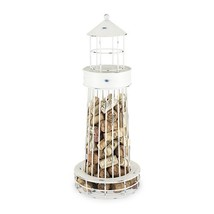 Decorative Wine Cork Holder, Twine Metal Lighthouse Cage For Wine Corks ... - $51.89