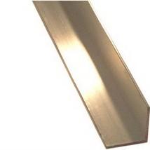 "STEELWORKS BOLTMASTER 11338 Aluminium Angle, 1/8 x 1-1/2 x 36"" - $29.56"