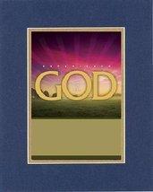 Inspirational Plaques  Experience God - Faith, Hope, Love, Joy, Peace. . . 8 x 1 - $11.14