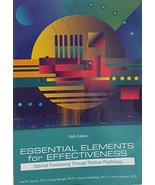 ESSENTIAL ELEMENTS F/EFFECTIVENESS [Paperback] Juan R. Abascal, Lauren B... - $13.84