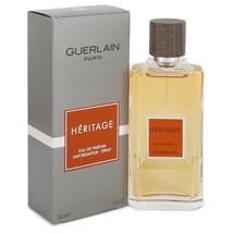 HERITAGE by Guerlain Eau De Parfum Spray 3.3 oz for Men - $77.95