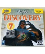 NEW Sagas Of Discovery PC Games Windows 10 8 7 XP Computer 7 hidden obje... - $15.95
