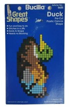 "Yarn Art Shape Duck 4.5"" Pre Cut Plastic Canvas Art Craft Bucilla 5625 - $9.79"