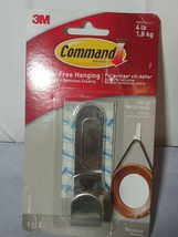Decorative Hook, Large, 1 Hook and 2 Strips/Pack MR13SS  - 3M COMMAND - $9.49