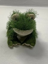 Ganz Webkinz Green Fuzzy Lil' Frog Plush Stuffed Animal No Code - $7.85