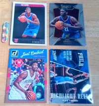 Joel Embiid LOT(4) Rookie Cards Mint Condition US Free Shipping - $21.47