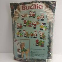 Bucilla, JOLLY OLD ST. NICK 12 Felt Ornaments, Christmas #82932 NEW Sealed (2B1) - $19.99