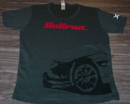 WOMEN'S TEEN BULLRUN Rallying The World Rally Car Race T-shirt MEDIUM NEW - $19.80