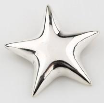 Rare Tiffany & Co.Mexico .925 Sterling Color Argento Puff Cuore Fermaglio a - $107.01