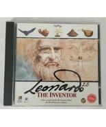 Leonardo The Inventor 2.0 1996 SoftKey CD ROM  - $6.79