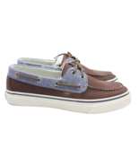 SPERRY Top Sider Bahama 2-Eye Fleck Mens Brown Boat Shoe Size 8 AUTHENTIC - $49.87