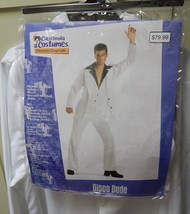 California Costumes Disco Dude Saturday Night Fever White Suit Adult 44 ... - $38.49
