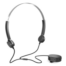 Bone Conduction Headset Hearing Aid Headphones Audiphone Sound Pick-up A... - $39.19