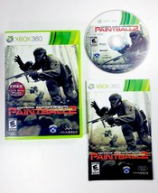 Greg Hastings Paintball 2 (Microsoft Xbox 360, 2010) Complete with Manual - RARE - $12.30