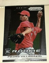 2013 Panini Prizm Prizms Cincinnati Reds Baseball Card #240 Pedro Villar... - $1.98