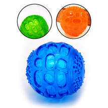 Pet Dog Cat Toy Squeaking Interactive Chew Toy Puppy Train Teeth Clean Play Ball - $8.70