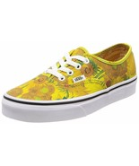 Vans Authentic Vincent Gogh Sunflowers Shoes MENS 3.5 WOMENS 5 new nwt - $159.99