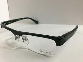 New ALAIN MIKLI AL 0737 0013 56mm Green Semi-Rimless Eyeglasses Frame - $249.99