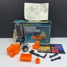Micronauts Mego 1976 robot action figure vehicle complete crater crunche... - $222.75