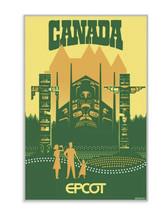 Disney EPCOT World Showcase Canada Pavilion Poster Aoyama Limited Editio... - $286.60