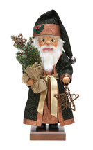 Alexander Taron Christian Ulbricht Decorative Woodland Santa Nutcracker - $271.25