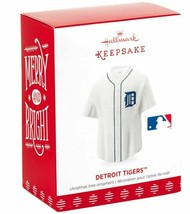 Hallmark  Detroit Tigers  Jersey   #1  Keepsake Ornament  2018 - $15.79