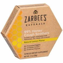 Zarbee's Naturals 99% Honey Cough Soothers - $14.38