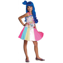 Licensed Katy Perry Candy Girl Diva Rock Star California Gurl Costume Gi... - $24.49