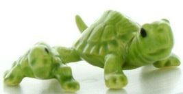 Hagen Renaker Miniature Turtle Mama and Baby Ceramic Figurine Set image 12