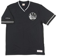 Golden State Warriors Mitchell & Ness Overtime Win Vintage Tee Large - $49.88
