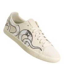 Puma Clyde Snake Embroidery Textured Mens Size 11.5 Style #36811101 - $57.87
