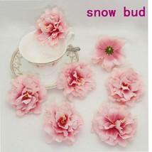 30pcs Peony Artificial Fake Silk flower Heads Bulk For Wedding Party Gar... - $16.50