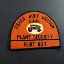 Fisher Body Division Plant Security Flint No 1 Michigan MI Automotive Patch - $22.77