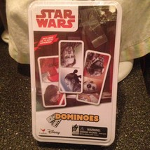 Star Wars Dominoes The Last Jedi Collector's Game Tin Brand New Sealed Rare - $18.99