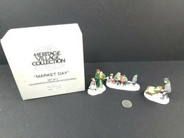 Dept 56 MARKET DAY Set of 3 5641-3 The Heritage Collection Department 56 - $14.93