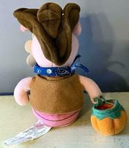 "Disney Store~Halloween~Exclusive~9"" Western Cowboy Piglet~Bean Bag Doll~... - $14.01"