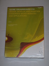 ADOBE Dreamweaver CS3 Brand New Windows NIB - $309.99