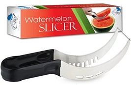 Watermelon Slicer Cutter Corer Server Stainless Steel Knife - Melon and ... - $21.86