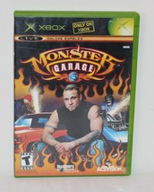 Monster Garage (Microsoft Xbox, 2004) Tested Working Complete Game - $2.96