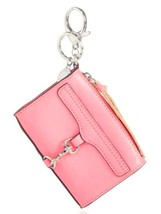 Rebecca Minkoff Mini MAC Key Fob Leather Bag Charm Coin Purse Guava - $58.06