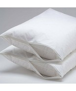 4-Pack Hypoallergenic Back Fabric Lamination Zipper Pillow Encasement Pr... - $14.84+