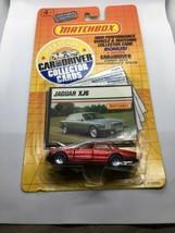 Matchbox Jaguar XJ6 Car And Driver Collector Cards NIP 1989 - $13.99