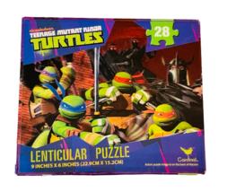 Nickelodeon Teenage Mutant Ninja Turtles 28-Piece Lenticular Jigsaw Puzzle - $9.90