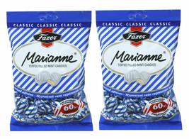 Fazer Marianne Azul Menta Caramelos Relleno con Toffee 2 x 220 g 2 Bolsas - $10.40
