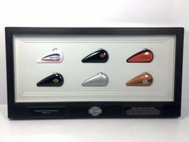 Harley Davidson MINI GAS TANK COLLECTION Dealer Wall Display Mobile Bay ... - $71.25