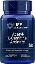 Life Extension Acetyl-L-Carnitine Arginate 90 Vegetarian Capsules - $28.76